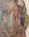 《テセウスのミノタウロス退治》後1世紀後半、第4様式