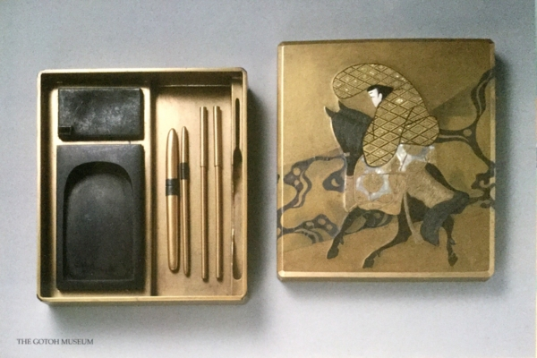 《光琳佐野渡硯箱》