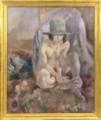 ジュール・パスキン《緑の帽子を被る裸婦》