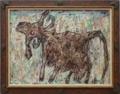 《美しい尾の牝牛》ジャン・デュビュッフェ