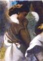 テオドール・シャセリオー≪オリーブ山の園で祈る天使≫