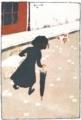ピエール・ボナール《小さな洗濯女》