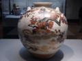 野々村仁清《色絵月梅図茶壺》