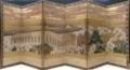 《歌舞伎遊楽図屏風 右隻》