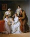 《画家の家族の肖像》パジュー