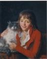《画家の息子アンブロワーズ・ルイ・ガルヌレ》ジャン=フランソワ・
