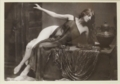Robert DEMACHY《Woman in a Black Veil》
