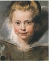 《クララ・セレーナ・ルーベンスの肖像》