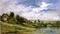 《ポルトジョアのセーヌ川》ドービニー