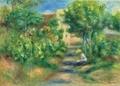 ≪画家の庭≫ルノワール