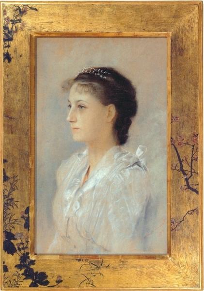 ≪17歳のエミーリエ・フレーゲの肖像≫クリムト