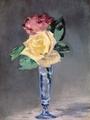 ≪シャンパングラスのバラ≫マネ