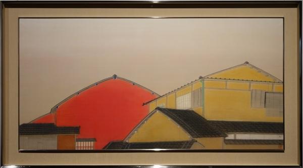 速水御舟《京の家・奈良の家》