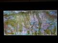 クロード・モネ《睡蓮、柳の反映》デジタル推定復元