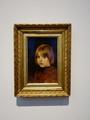 ヘレン・シャルフベック《少女の頭部》