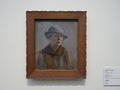 エレン・テスレフ《帽子を被った自画像》
