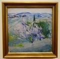 エレン・テスレフ《トスカーナの風景》