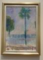 シーグリッド・ショーマン《海辺のヤシの木》