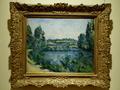 《ポントワーズの橋と堰》ポール・セザンヌ