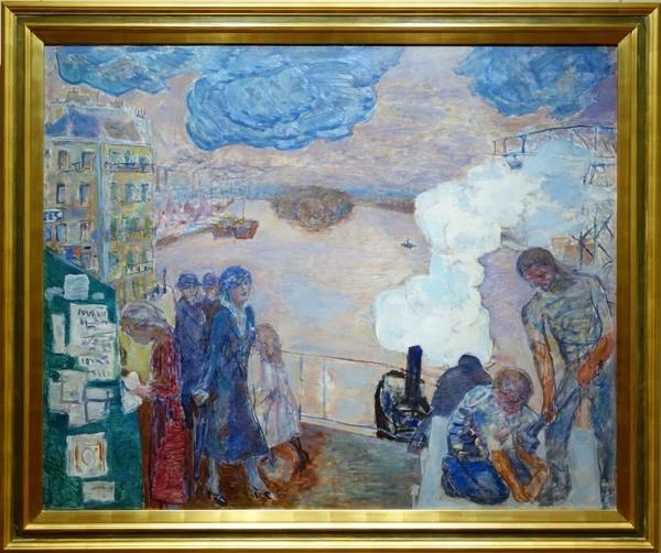 ピエール・ボナール《働く人々》