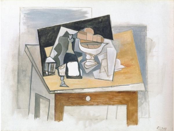 パブロ・ピカソ≪大きな静物画≫