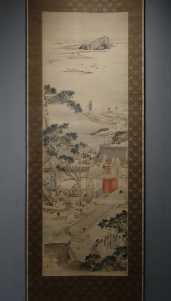 渡辺華山《于公高門図》