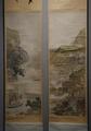 谷文晁《桃源・赤壁図》