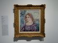 オスカー・ココシカ《アルマ・マーラーの肖像》