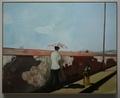 ピーター・ドイグ《ラベイルーズの壁》