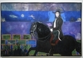ピーター・ドイグ《馬と騎手》