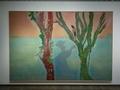 ピーター・ドイグ《二本の樹木(音楽)》