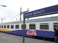 アルテシア・ナイト[スタンダール]Venezia行き。Paris Bercy駅にて。