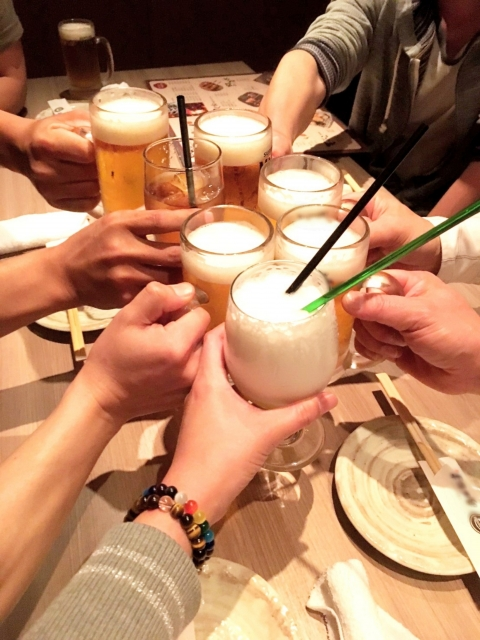 バイトの飲み会