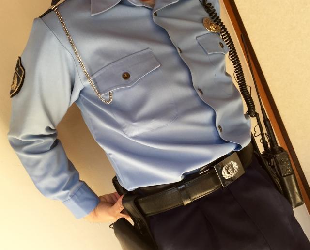 警察官のコスプレ