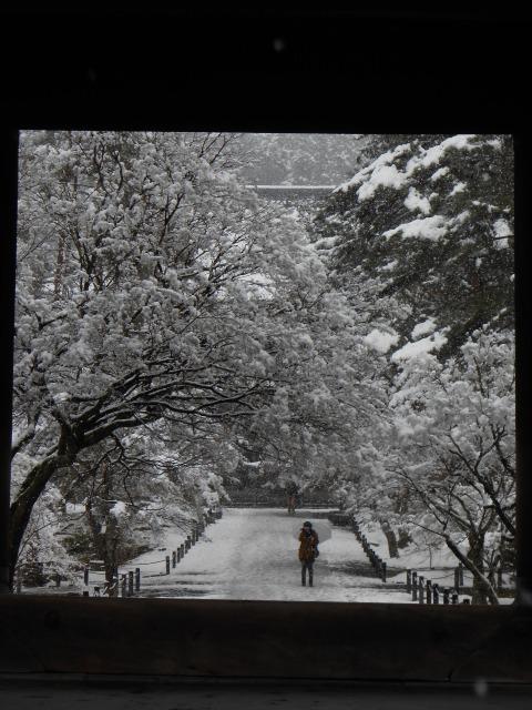 京都 雪 南禅寺