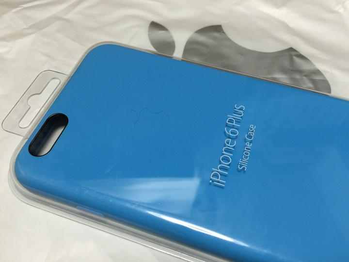 iPhone 6 Plus Apple純正シリコンケース