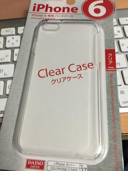 iPhone 6保護ケース ダイソー