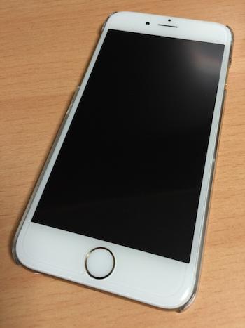 iPhone 6保護ケース 装着