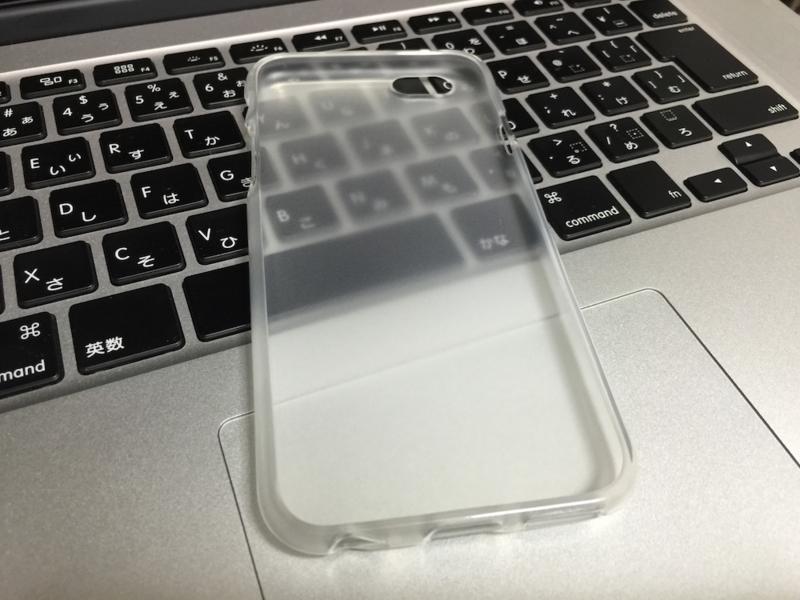 iPhone 6 ダイソーTPUケース