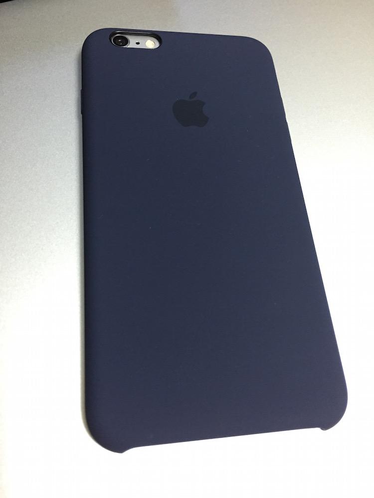 iPhone 6s PlusのApple純正のシリコンケース