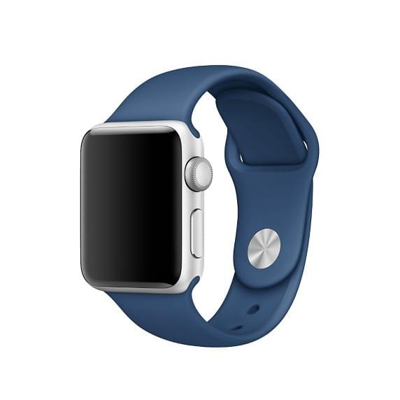 Apple Watch 38mmケース用オーシャンブルースポーツバンド