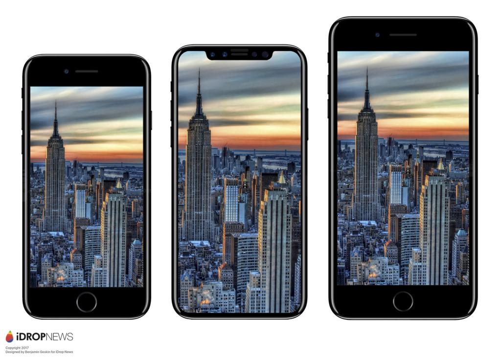 iPhone 7、iPhone8、iPhone7 Plus