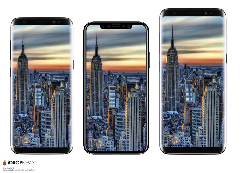 Galaxy S8、iPhone8、Galaxy S8+