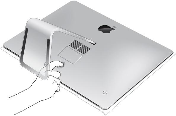 iMac にメモリを取り付ける