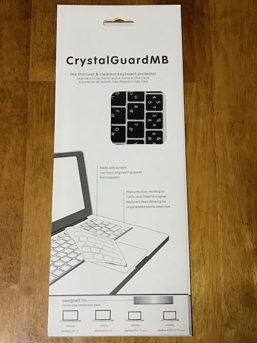MacBook Proのキーボードカバー