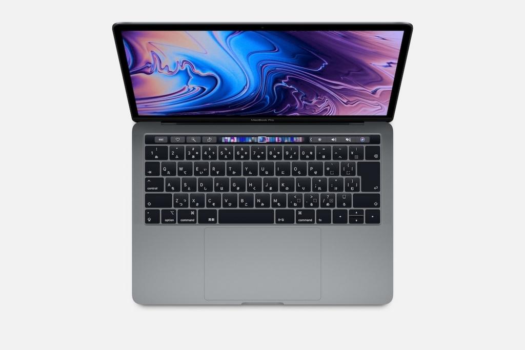 MacBook Pro2018年モデル