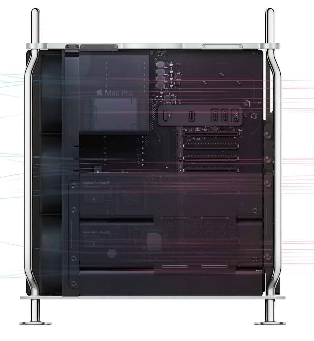 Mac Pro排熱
