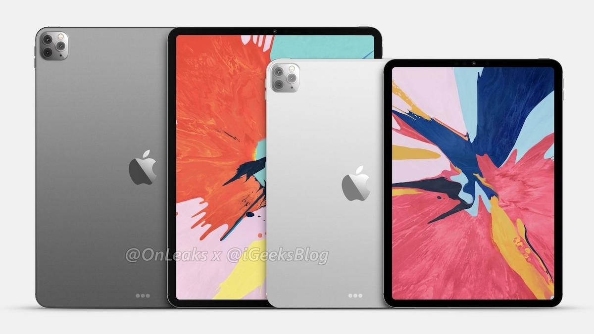 次期「iPad Pro」の予想レンダリング画像