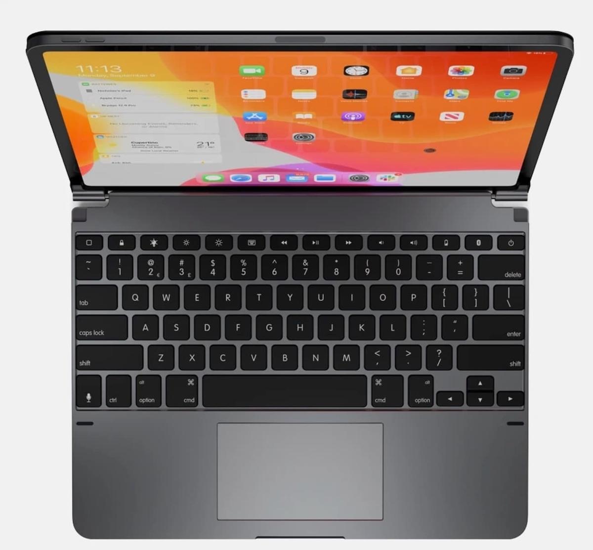 Brydge、iPad Pro用トラックパッド付きキーボード