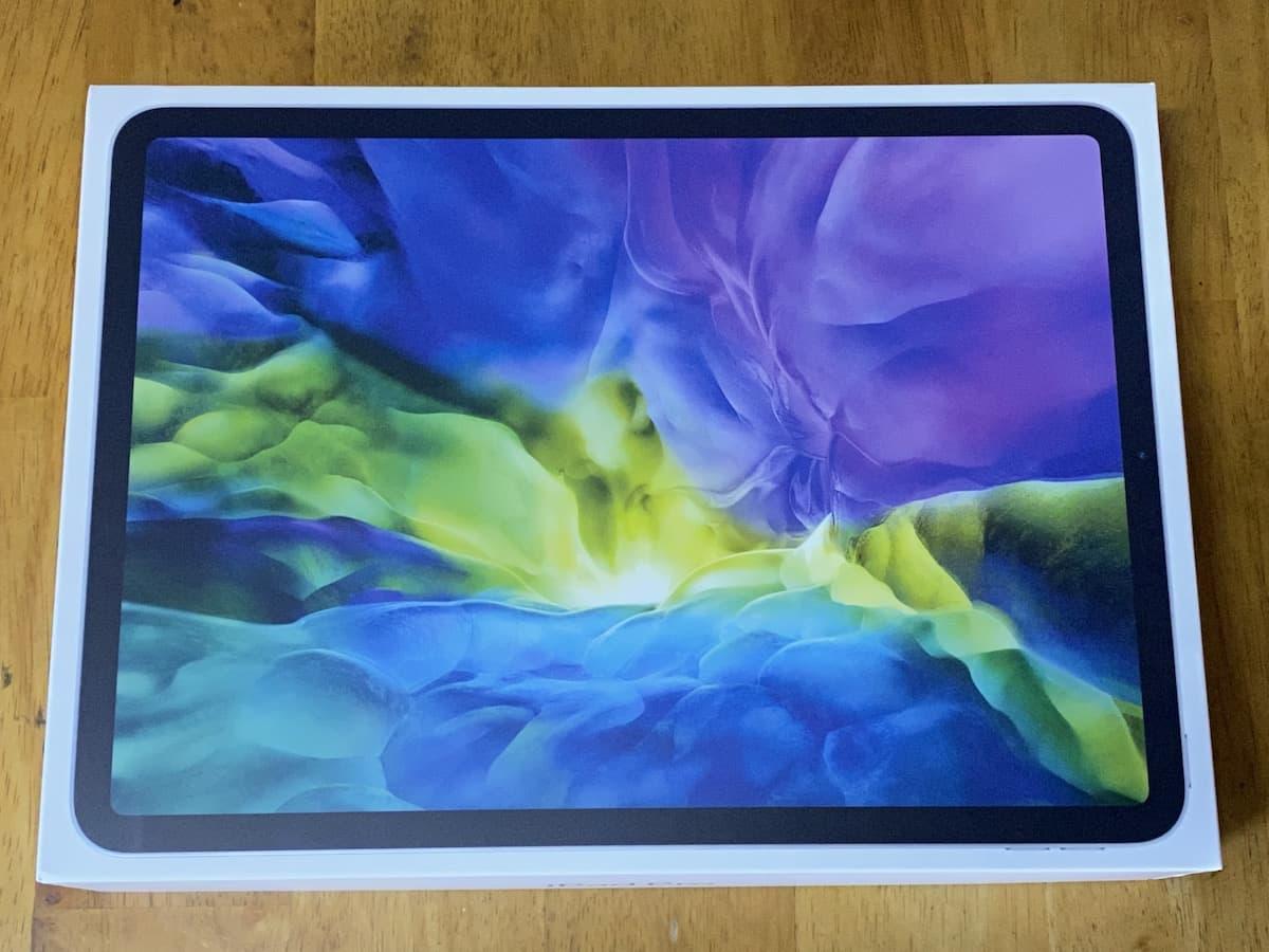 iPad Pro(2020)11インチの外箱